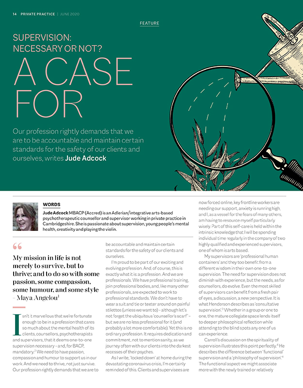 Article A Case for Supervision June 20